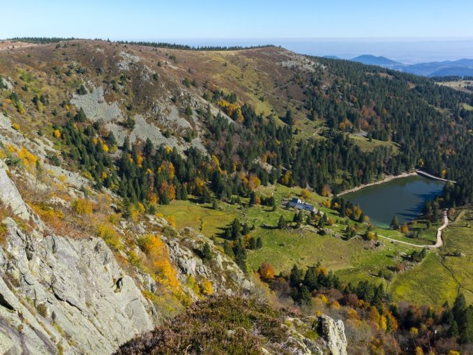 Mountainbike Touren Vogesen - Lac des Truites