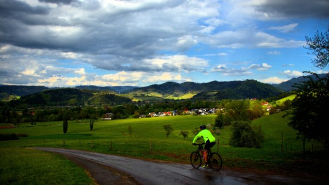 Mountainbike fahren ist gesund